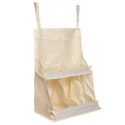 Baby Bed Hanging Nursery & Nappy Organisers for Crib,Lightweight Nylon Material with hook and loop Straps.