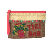 Kate Spade Breath of Freash Air Tiki Bar Clutch, Multi