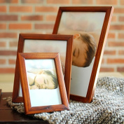 Simple Solid Wooden Frame Wooden Photo Frame Table Decoration For Family Pictures Store