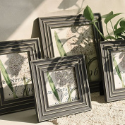 Retro Decoration Foldable Vintage Polymer Photo Frame 18cm Wedding Home Picture Frames Gift