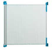 Gaterol Active Lite Blue - Retractable Safety Gate - Super Safe 90cm Tall and Opens up to 140cm