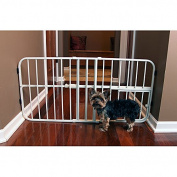 Carlson Mini Tuffy Metal Expandable Pet Gate, Material