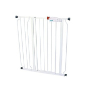 Regalo Easy Step Extra Tall Walk Through Gate Easy to Set up