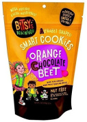 Organic Orange, Chocolate & Beet Alphabet Shapes Baby Cookies
