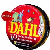 Roald Dahl Classics 29 CD 10 Phizz Whizzing Audio Story Books Set Metal Gift Tin