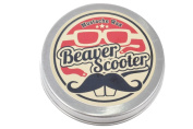 Beaver Scooter Basil Mint Moustache Wax Large 30ml Metal Pocket Tin