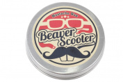 Beaver Scooter Basil Mint Moustache Wax Large 30ml Metal Pocket Tin