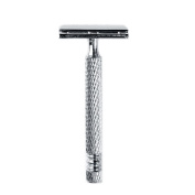 Double Edge Safety Razor for Man Shaving, 1 Razor + 1 Blade