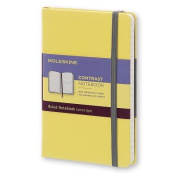 Moleskine Contrast Limited Collection Pocket Ruled Hard Citron Yellow