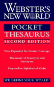 Webster's New World Pocket Thesaurus, Second Edition