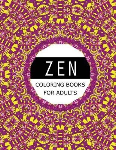 Zen Coloring Books For Adults Mood Enhancing Mandalas