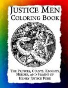 Justice Men Coloring Book