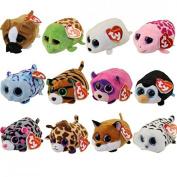 Set of 12 Teeny Tys 10cm - Stuffed Animal by Ty