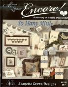 "Cross Stitch Patterns ~ ""Alma Lynne Encore So Many Minis"" ~ Jeanette Crews Designs #8102"