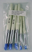 Encaustic Art Wax Scrapping Tools Set of 5 Sizes