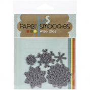 Paper Smooches Snowflakes Die