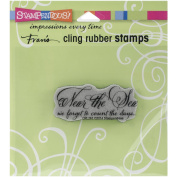 Stampendous Cling Rubber Stamp, Near The Sea
