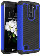 LG K7 Case, LG Tribute 5 Case, NOKEA [Shock Absorption] Full Body Hybrid Dual Layer Armour Defender Protective Case Cover for LG Tribute 5 / LG K7