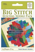 Big Stitich Needle Sampler for Sashiko & Embroidery - Colonial Needle Co. - 14 Needles