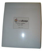 Tearaway Embroidery Stabiliser, 10x12, 200 Precut Sheets for Embroidery Machines, Fits 5x7 Hoops