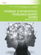 Cp1115: Psychology 1b (Psy1022/Psy4122)