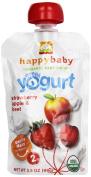 Happy Baby Greek Yoghurt Strawberry, Apple & Beet, Stage 2