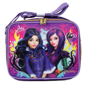 Disney Descendants Cartoon Evie and Mal Insulated Lunch Bag for Girls