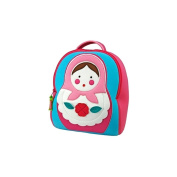 Dabbawalla Bags Preschool & Toddler Russian Doll Backpack, Pink