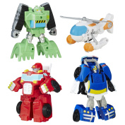 Playskool Heroes Transformers Rescue Bots Gryphon Rock Rescue Team
