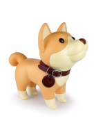 DomeStar Cute Dog Piggy Bank, Corgi