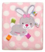 Taggies So Hoppy Stroller Baby Blanket