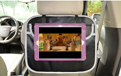 Topda123-Back of Seat Car Organiser with Touch Screen iPad and Tablet Holder - Stylish, Durable and High Quality