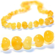 The Art of Cure Amber Teething Necklace - FTIR Lab Tested Authentic Amber