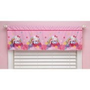 Hello Kitty Stars and Rainbows Window Valance
