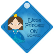 LP014 Little Princess On Board Car Sign New Baby / Child Gift / Present / Baby Shower Surprise