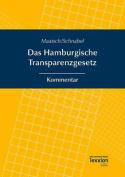 Das Hamburgische Transparenzgesetz [GER]