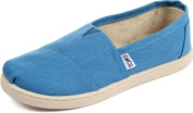 Toms - Youth Slip-On Shoes In Cerulean Canvas