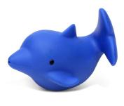 Puzzled Dolphin Bath Buddy Squirter Blue 7.6cm