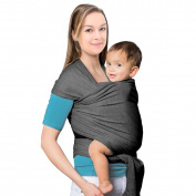 Mture Premium Baby Carrier, Soft Baby Carrier | Baby Sling Carrier Cosy & Soothing For Babies Suitable for Newborns, Infants & Toddlers Cotton/Spandex Comfort Fabric | Best Baby Shower Gift