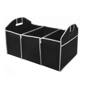 Bluelans® 2 in 1 Car Boot Organiser Shopping Tidy Heavy Duty Collapsible Foldable Storage Bag
