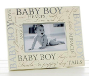 Baby Boy Picture Frame Script Memories ...