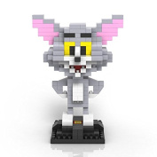 """Asbent(TM) """"Tom and Jerry"""" Diamond particles building Puzzle plastic toy Cartoon model WJ023-025"""
