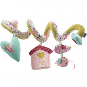 Asbent(TM) Baby music bed hanging and bed around girl toys with music and BB bell WJ142