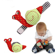 Asbent(TM) Snails Baby Wrist Watchs Baby Toys Infant Learning & Education Toy Baby Rattle Hand Rattles Finders Toys(2pcs/ pair) WJ178