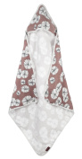 Milkbarn - Hooded Towel - Rose Floral