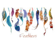 Wall Sticker, Xinantime Classic Creative Dream Catcher Feather Art Decal Mural