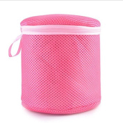 Xumarket(Tm) Foldable Women Bra Lingerie Washing Bag Laundry Pouch Basket Saver Protect Mesh Bag