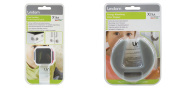 Lindam Xtra Guard Dual Locking Multi-Purpose Latch and Energy Absorbing Door Stopper Pack