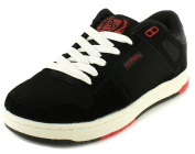 New Boys/Childrens Black Lace-Up Skate Style Trainers, Chunky Soles - Black - UK SIZES 11.5-4.5