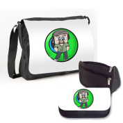 JACKSEPTICEYE - DOUBLE PACK - MESSENGER BAG & PENCIL CASE